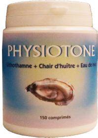 physiotone chair huitre eau de mer lithothamne