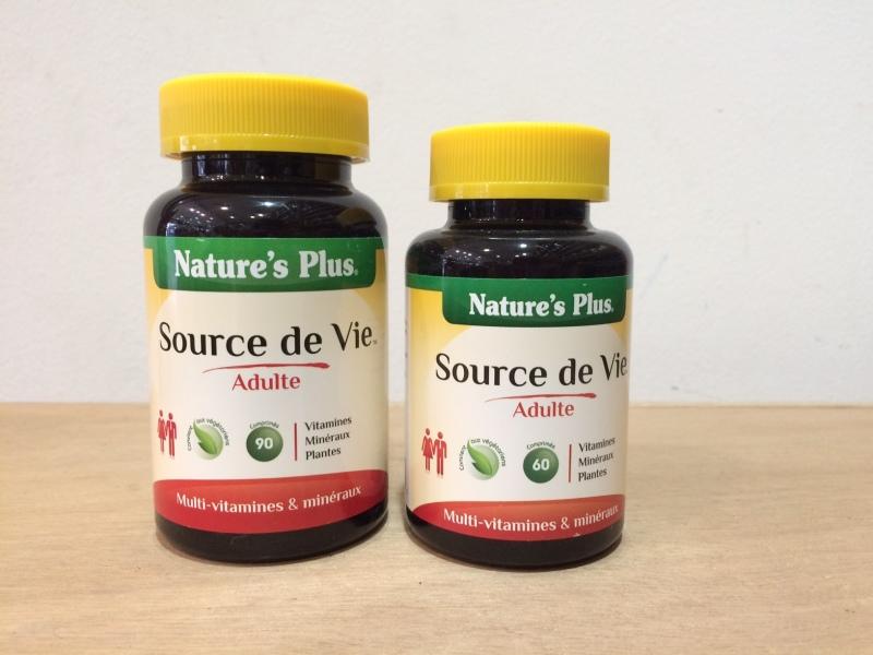 source de vie vitamines r gime pauvre en calories. Black Bedroom Furniture Sets. Home Design Ideas