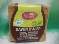 SAVON ALEP 24% huile laurier 64% huile olive