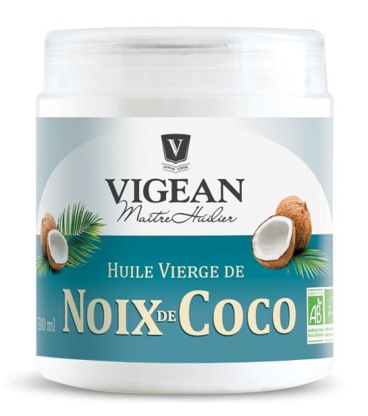 Huile vierge de coco biologique made in france - Huile de coco pour cuisiner ...
