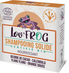 Shmpooing solide BIO nourrissant Lov' FROG