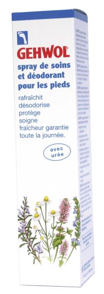 Spray d odorant pieds aux huiles essentielles gehwol - Soin des pieds maison ...