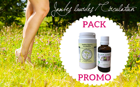 pack promo jambes lourdes