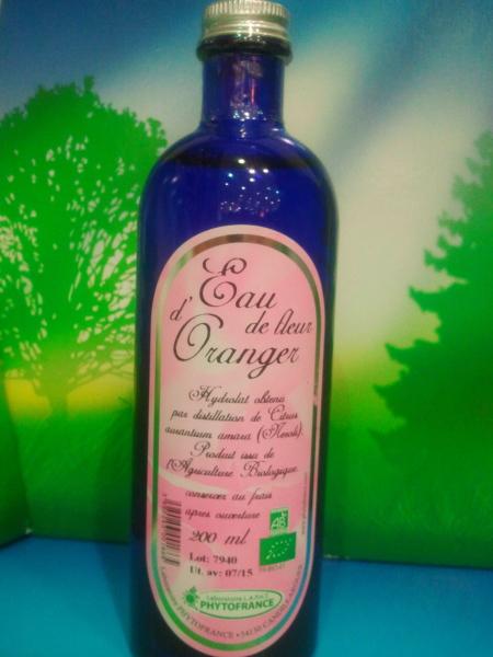 eau florale de fleur d'oranger bio naturado - cosmétique naturel