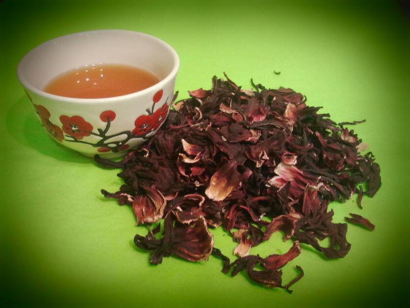 hibiscus en vrac pour tisane et infusion (tonus / arôme